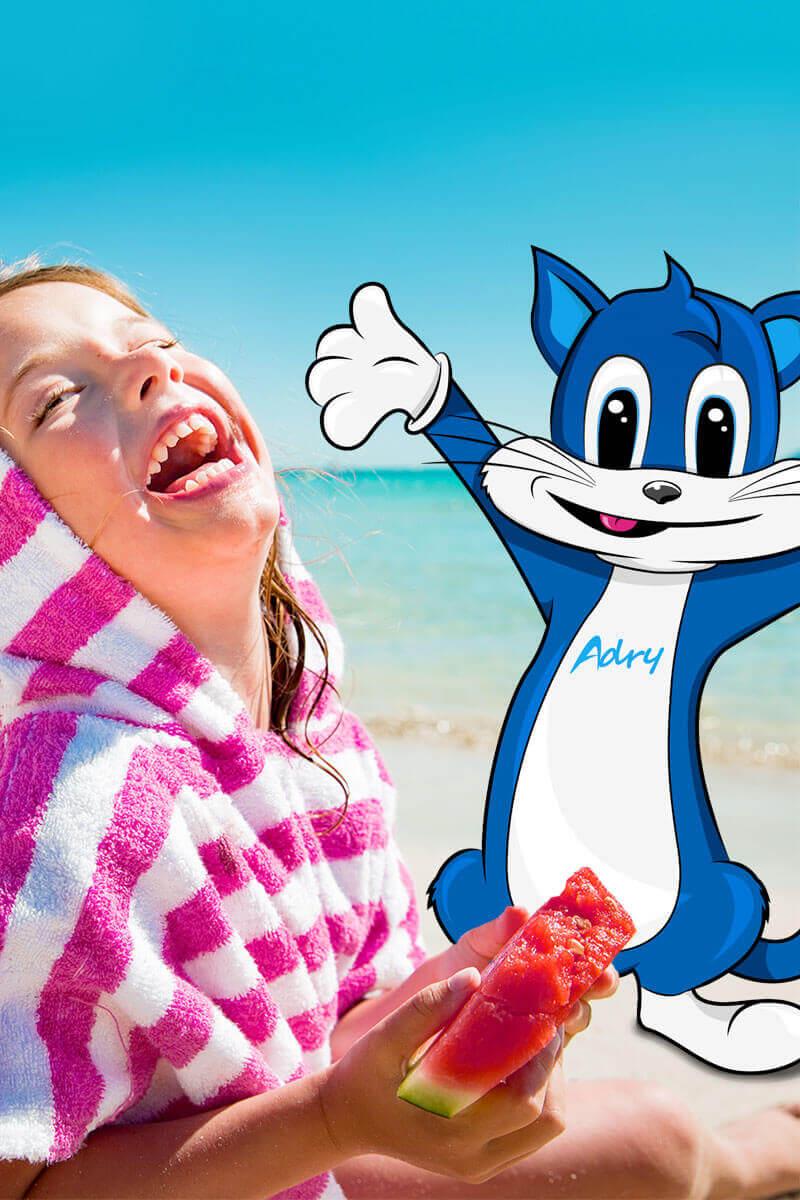 hotel Gatteo Mare sul mare animazione con Adry